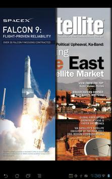 Via Satellite Magazine poster