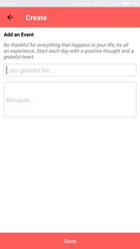 Gratitude apk screenshot