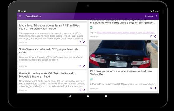 Central Notícia screenshot 5