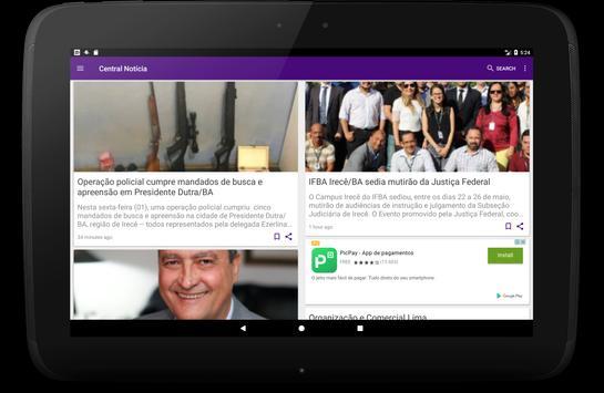 Central Notícia screenshot 6