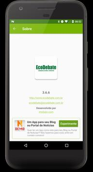 EcoDebate screenshot 3
