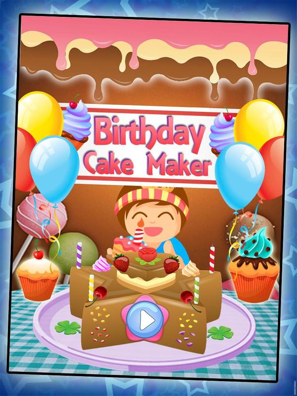 Free Birthday Cake Maker Apk Screenshot