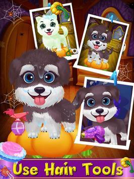 Halloween Pet Hair Salon apk screenshot