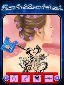 Back Tattoo Art Maker apk screenshot