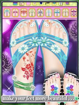 Wedding Toe Nail Art Salon poster