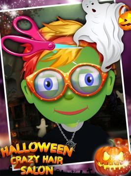 Halloween Crazy Hair Salon apk screenshot