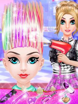 Funky Girl Hairstyle Salon apk screenshot