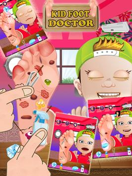 Kids Foot Doctor: Surgery Game poster