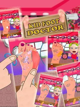 Kids Foot Doctor: Surgery Game screenshot 10