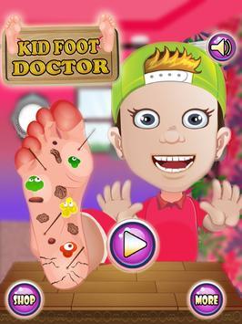 Kids Foot Doctor: Surgery Game screenshot 11