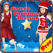 Sister's Christmas Dress Up icon