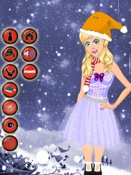 Sister's Christmas Dress Up apk screenshot
