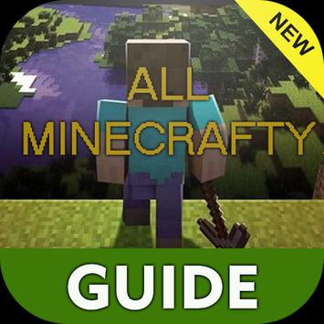 Guide for all minecrafty poster