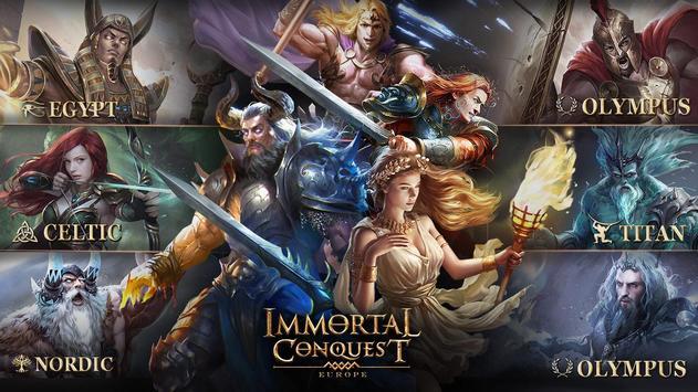Immortal Conquest: Europe apk screenshot