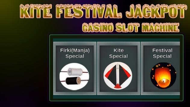 Kite Festival Jackpot : Real Casino Slot Machine poster