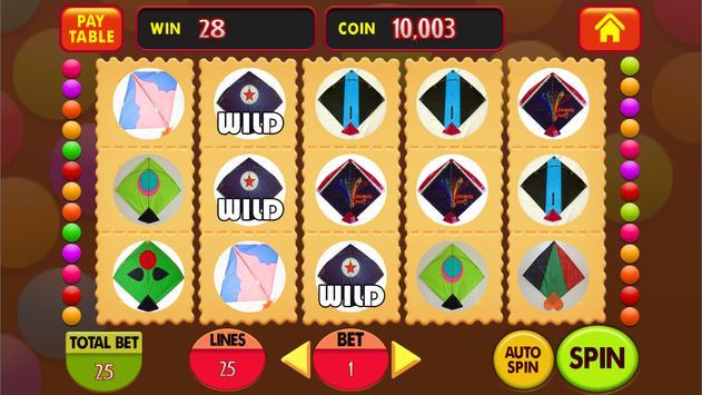 Kite Festival Jackpot : Real Casino Slot Machine screenshot 5