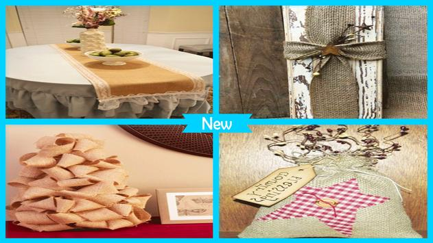 Awesome Burlap Craft Projects screenshot 4