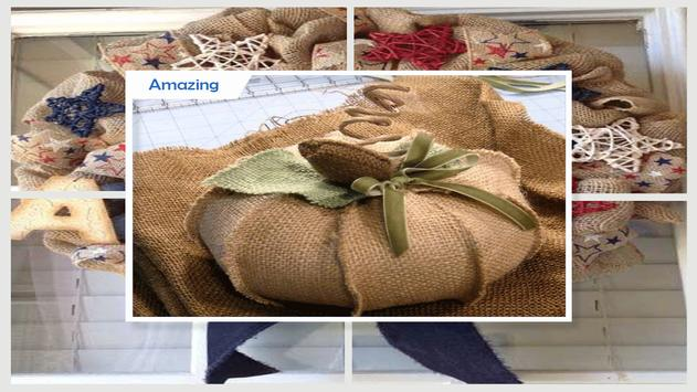 Awesome Burlap Craft Projects screenshot 3