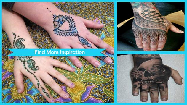 Amazing Hand Tattoo Ideas poster