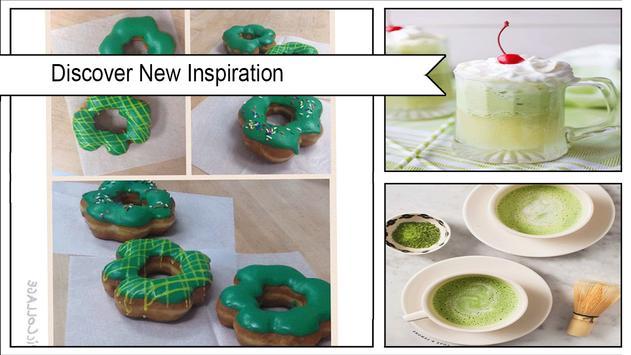 Best DIY Green Tea Shamrock Donuts screenshot 4