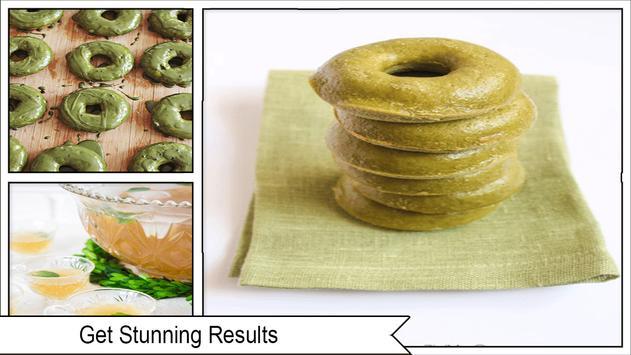 Best DIY Green Tea Shamrock Donuts screenshot 1