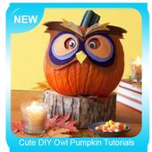 Cute DIY Owl Pumpkin Tutorials icon