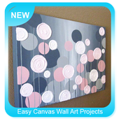Easy Canvas Wall Art Projects icon