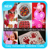 Easy Homemade Valentine Crafts icon