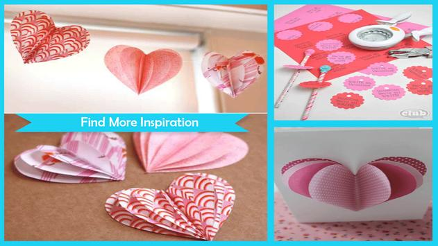 Easy Homemade Valentine Crafts poster