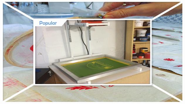 Easy Screen Printing Tutorials apk screenshot