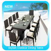Stylish Outdoor Dining Table Ideas icon