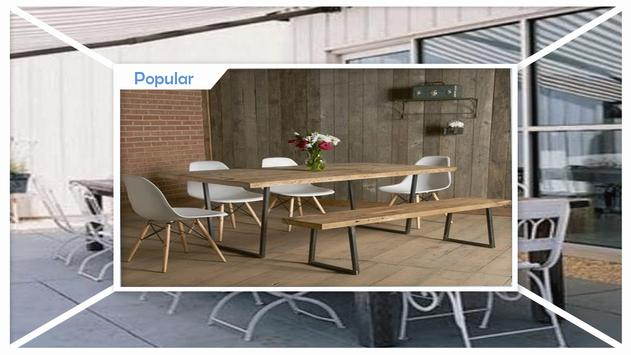 Stylish Outdoor Dining Table Ideas apk screenshot