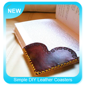 Simple DIY Leather Coasters icon