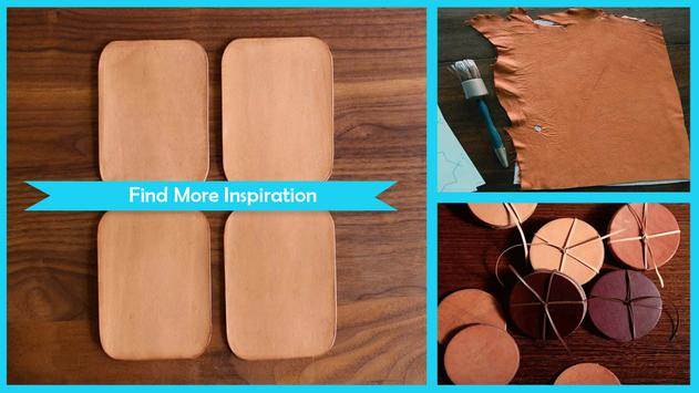 Simple DIY Leather Coasters screenshot 1