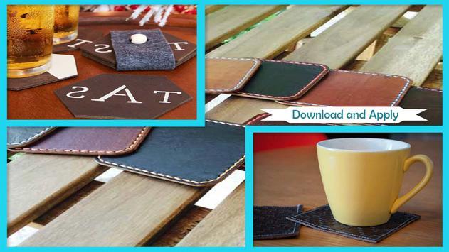 Simple DIY Leather Coasters screenshot 2