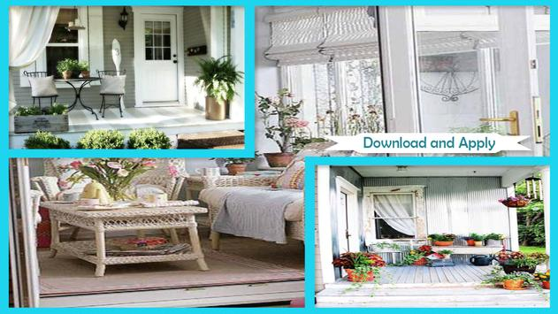 Small Porch Decorating Ideas screenshot 1