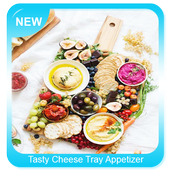 Tasty Cheese Tray Appetizer icon