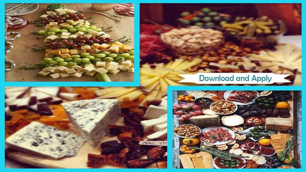 Tasty Cheese Tray Appetizer poster