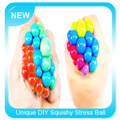 Unique DIY Squishy Stress Ball icon