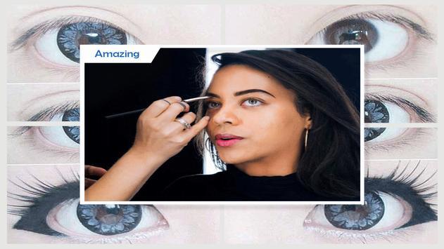 Watercolor Eye Makeup Tutorial screenshot 2