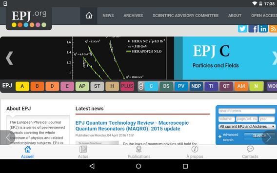 EPJ.org screenshot 7