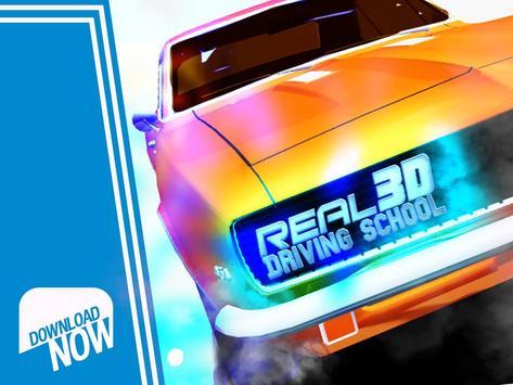 Real 3D Driving School 2017 apk screenshot