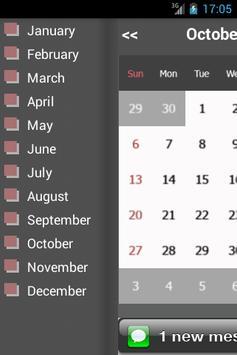 vCalendar screenshot 1