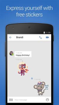 imo beta free calls and text скриншот приложения