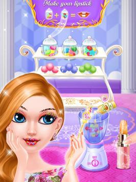 Candy Lipstick Maker Salon screenshot 6