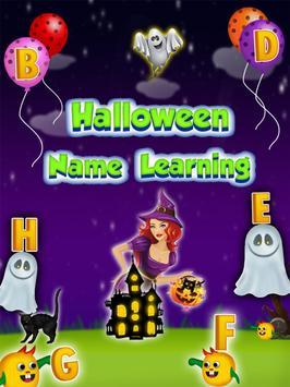 Halloween Names Learning screenshot 11