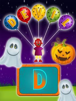 Halloween Names Learning screenshot 5