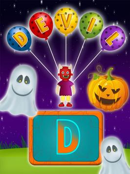 Halloween Names Learning screenshot 9