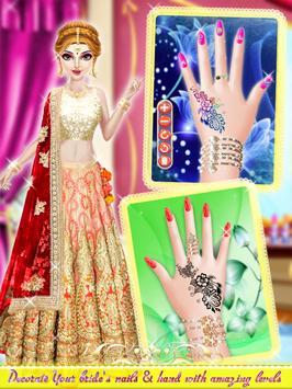 Indian Wedding Bride Salon - Manicure Pedicure poster