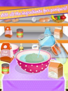 Yummy Panipuri Maker - Golgappa Recipe apk screenshot